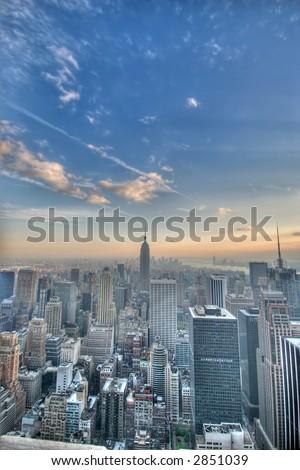 New York city - united states of America - stock photo