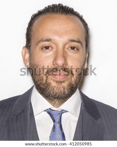 New York City, USA - April 23, 2016: Actor-choreographer Seth Michaels attends - Pele: Birth Of A Legend - Premiere during the 2016 Tribeca Film Festival at John Zuccotti Theater