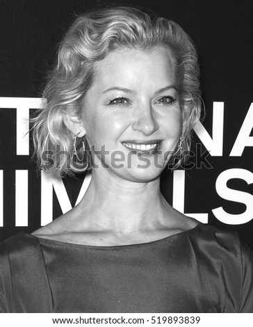 New York City, USA - November 17, 2016: Actress Gretchen Mol attends the 'Nocturnal Animals' New York premiere held at The Paris Theatre