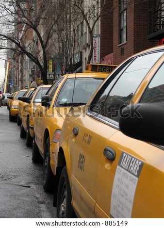 New York City yellow taxi cabs