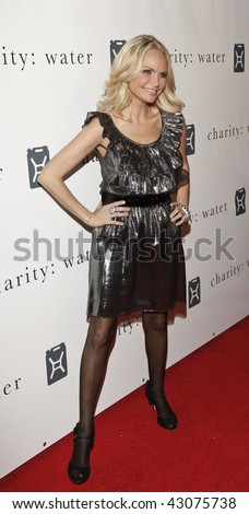 NEW YORK - DECEMBER 14: Actress Kristin Chenoweth attends the Fourth Annual Charity Ball Gala to benefit charity: water at the Metropolitan Pavilion on December 14, 2009 in New York City.