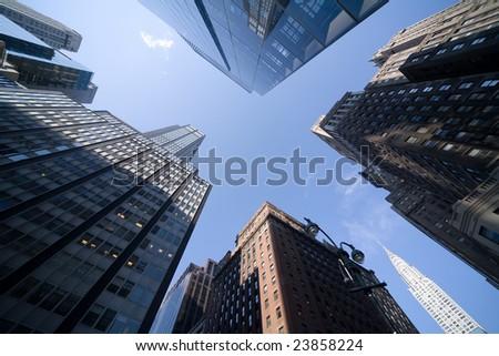 New York Downtown - stock photo