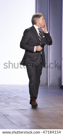 NEW YORK - FEBRUARY 18: Designer Tommy Hilfiger at his Collection presentation at Fall 2010 during Mercedes-Benz Fashion Week on February 18, 2010 in New York