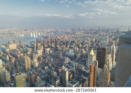 new york from the heights