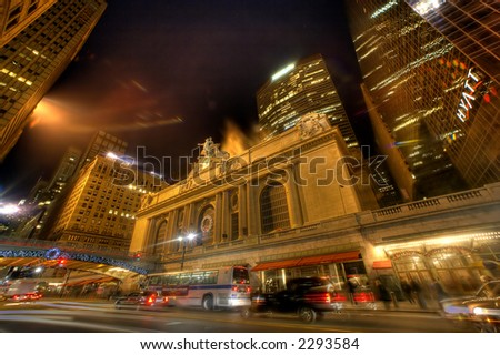 NEW YORK ,Grand Central - stock photo