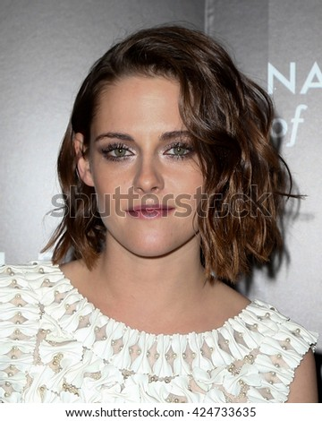 NEW YORK-JAN 5: Actress Kristen Stewart attends the 2015 National Board of Review Gala at Cipriani 42nd Street on January 5, 2016 in New York City. - stock photo