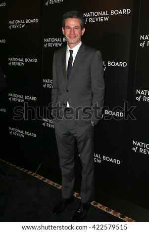 NEW YORK-JAN 5: Producer Simon Kinberg attends the 2015 National Board of Review Gala at Cipriani 42nd Street on January 5, 2016 in New York City. - stock photo