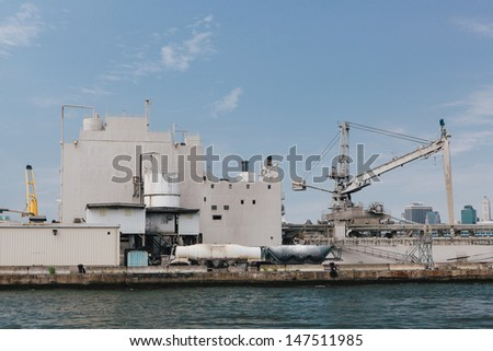 Stock photos royalty free images vectors shutterstock - The industrial looking sauna in the port city of goteborg ...
