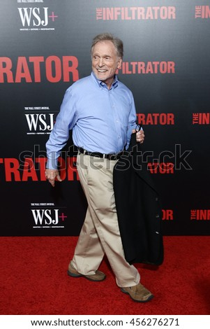 NEW YORK-JULY 11: Dick Cavett attends 'The Infiltrator' New York premiere at AMC Loews Lincoln Square 13 Theater on July 11, 2016 in New York City. - stock photo