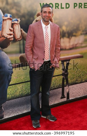 NEW YORK-JUN 24: Alec Sulkin attends the 'Ted 2' world premiere at the Ziegfeld Theatre on June 24, 2015 in New York City. - stock photo