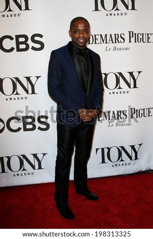 NEW YORK-JUNE 8: Actor Dule Hill attends American Theatre Wing's 68th Annual Tony Awards at Radio City Music Hall on June 8, 2014 in New York City. - stock photo