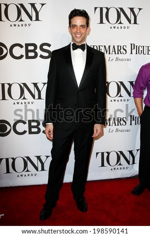 NEW YORK-JUNE 8: Actor Nick Cordero attends American Theatre Wing's 68th Annual Tony Awards at Radio City Music Hall on June 8, 2014 in New York City. - stock photo
