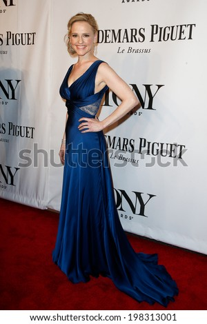 NEW YORK-JUNE 8: Actress Anika Larsen attends American Theatre Wing's 68th Annual Tony Awards at Radio City Music Hall on June 8, 2014 in New York City. - stock photo