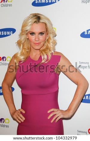 NEW YORK-JUNE 4: Actress Jenny McCarthy attends Samsung's Annual Hope for Children gala at the American Museum of Natural History on June 4, 2012 in New York City. - stock photo