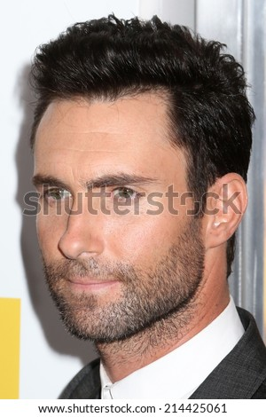 "NEW YORK - June 25, 2014: Adam Levine attends the premiere of ""Begin Again"" at the SVA Theater on June 25, 2014 in New York City."