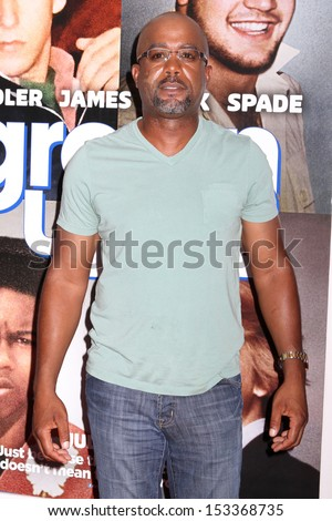 "NEW YORK - JUNE 10: Darius Rucker attends the premiere of ""Grown Ups 2"" at AMC Lincoln Square on June 10, 2013 in New York City."