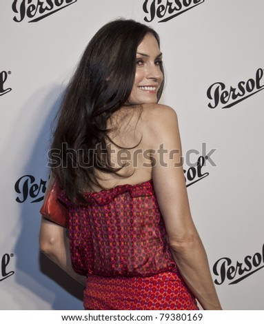 NEW YORK - JUNE 16: Famke Janssen attends the Persol Magnificent Obsessions exhibition opening at Center 548 on June 16, 2011 in New York City.