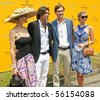 NEW YORK - JUNE 27: Polo athlete Nacho Figueras, Jared Kushner and Ivanka Trump attend the 3rd annual Veuve Clicquot Polo Classic at Governor's Island on June 27, 2010 in New York City. - stock photo