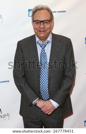 NEW YORK-MAR 28: Comedian Lewis Black attends the 2015 Garden Of Laughs Comedy Benefit at the Club Bar and Grill at Madison Square Garden on March 28, 2015 in New York City. - stock photo