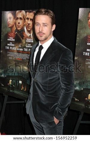 "NEW YORK - MARCH 28: Ryan Gosling attends the premiere of ""The Place Beyond The Pines"" at the Landmark Sunshine Cinema on March 28, 2013 in New York City."