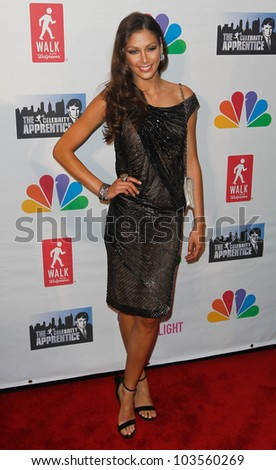 "NEW YORK-MAY 20: Dayana Mendoza attends the ""Celebrity Apprentice"" Live Finale at the American Museum of Natural History on May 20, 2012 in New York City."