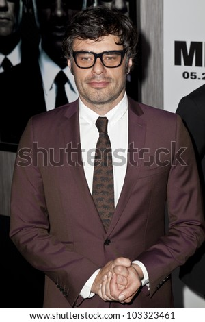 NEW YORK - MAY 23: Jemaine Clement attends the 'Men In Black 3' New York Premiere at Ziegfeld Theatre on May 23, 2012 in New York City.