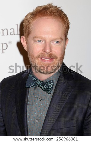 NEW YORK - MAY 16, 2014: Jesse Tyler Ferguson attends the Drama League Awards at the Marriot Marquis on May 16, 2014 in New York City. - stock photo