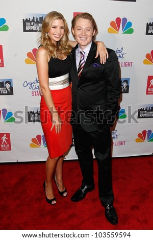 NEW YORK-MAY 20: Singer Clay Aiken and Ivanka Trump attend the 'Celebrity Apprentice' Live Finale at the American Museum of Natural History on May 20, 2012 in New York City.