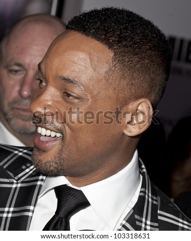 NEW YORK - MAY 23: Will Smith attends the 'Men In Black 3' New York Premiere at Ziegfeld Theatre on May 23, 2012 in New York City. - stock photo