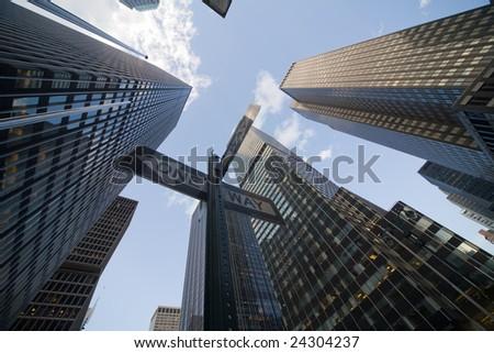 New York Midtown Manhattan - stock photo
