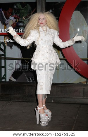 NEW YORK - NOV 11: Lady Gaga attends the Glamour Woman of the Year Awards at the Carnegie Hall on November 11, 2013 in New York.