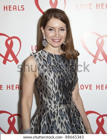 NEW YORK - NOVEMBER 09: Jean Shafiroff attends Love Heals The Alison Gertz Foundation For AIDS Education 20th Anniversary gala at the Four Seasons Restaurant on November 9, 2011 in New York City, NY. - stock photo