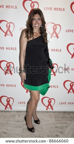 NEW YORK - NOVEMBER 09: Melissa Meyers attends Love Heals The Alison Gertz Foundation For AIDS Education 20th Anniversary gala at the Four Seasons Restaurant on November 9, 2011 in New York City, NY. - stock photo