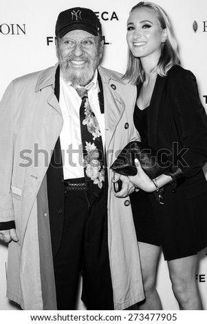 NEW YORK, NY - APRIL 25: Actor Chuck Low and granddaughter attends the closing night screening of 'Goodfellas' during the 2015 Tribeca Film Festival at Beacon Theatre
