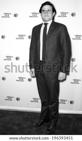 NEW YORK, NY - APRIL 17: Director Lou Howe attends the 'Gabriel' Premiere during the 2014 Tribeca Film Festival at the SVA Theater - stock photo
