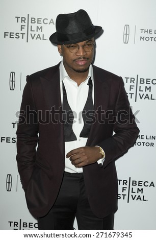 New York, NY - April 21, 2015: Ne-Yo attends Tribeca Film Festival screening of On The Town movie at Spring Studios