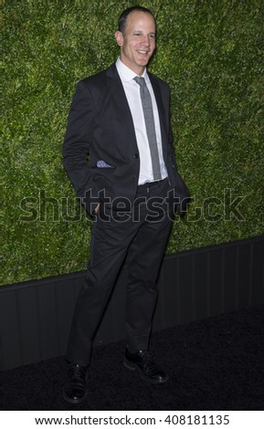 NEW YORK, NY - APRIL 18, 2016: Tribeca Film Festival CEO Andrew Essex attends the 11th Annual Chanel Tribeca Film Festival Artists Dinner at Balthazar