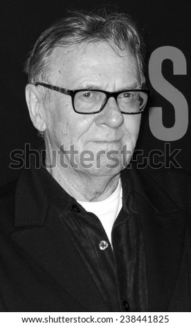 NEW YORK, NY - DECEMBER 14, 2014: Actor Tom Wilkinson attends the 'Selma' New York Premiere at the Ziegfeld Theater
