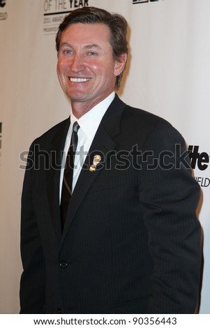 NEW YORK, NY - DECEMBER 6: Wayne Gretzky attends the 2011 Sports Illustrated Sportsman of the Year award presentation at The IAC Building on December 6, 2011 in New York City.