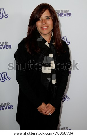 "NEW YORK, NY - FEBRUARY 02: Producer Jane Lipsitz attends the ""Justin Bieber: Never Say Never"" New York movie premiere at the Regal E-Walk 13 Theater on February 2, 2011 in New York City. - stock photo"