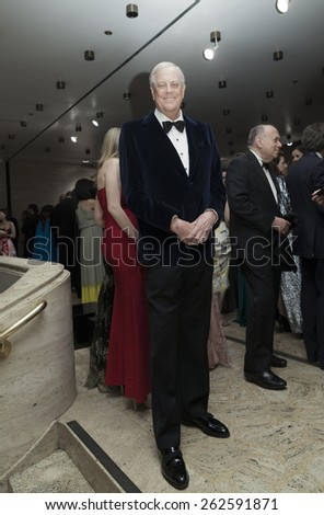 New York, NY - March 9, 2015: David Koch attends The School of American Ballet 2015 Winter Ball at Lincoln Center  - stock photo