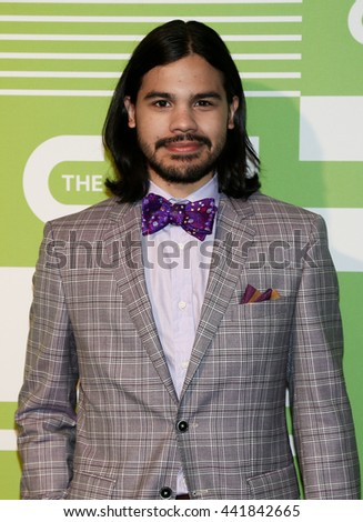 NEW YORK, NY - MAY 14: Actor Carlos Valdes attends the 2015 CW Network Upfront Presentation at the London Hotel on May 14, 2015 in New York City. - stock photo