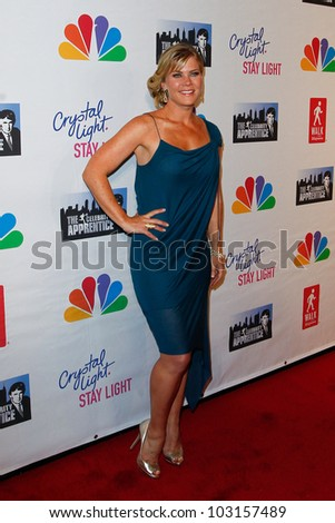 NEW YORK, NY- MAY 20: Actress Allison Sweeney attends the 'Celebrity Apprentice' Live Finale at the American Museum of Natural History on May 20, 2012 in New York City.