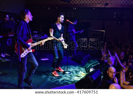 NEW YORK, NY - MAY 06: General atmosphere during American concert tour of singer Dima Bilan at Stage 48 Club on May 06, 2016 in New York City.