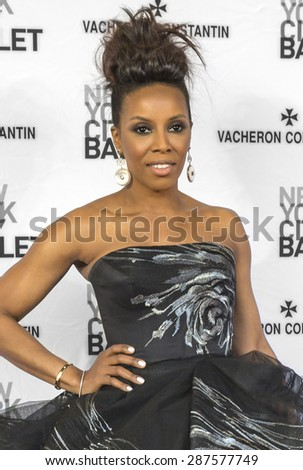 NEW YORK, NY - MAY 07, 2015: June Ambrose attends the New York City Ballet 2015 Spring Gala at David H. Koch Theater, Lincoln Center on May 7, 2015 in New York City