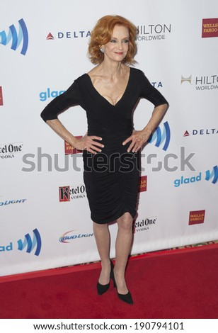 New York, NY - May 03, 2014: Swoosie Kurtz attends the 25th Annual GLAAD Media Awards at Waldorf Astoria