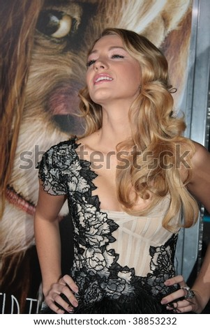 """NEW YORK, NY - OCTOBER 13: Blake Lively attends the """"Where the Wild Things Are"""" premier on October 13, 2009 in New York City. - stock photo"""