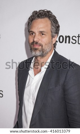New York, NY, USA - April 18, 2016: Actor Mark Ruffalo attends Tribeca Talks Directors Series: Joss Whedon with Mark Ruffalo during the 2016 Tribeca Film Festival at SVA Theatre, Manhattan