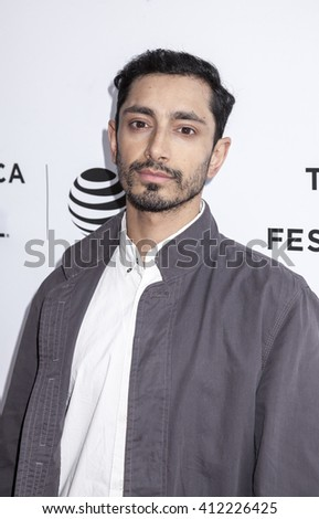 New York, NY, USA - April 22, 2016: Actor Riz Ahmed attends Tribeca Tune In: 'The Night Of' Screening during 2016 Tribeca Film Festival at SVA Theatre