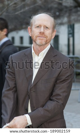 New York, NY, USA - April 23, 2014: Filmmaker Ron Hovard attends the Vanity Fair Party during the 2014 Tribeca Film Festival at the State Supreme Courthouse in New York City